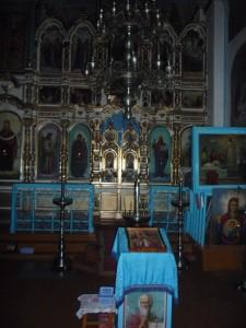 Престол освящен примерно в 1869 году